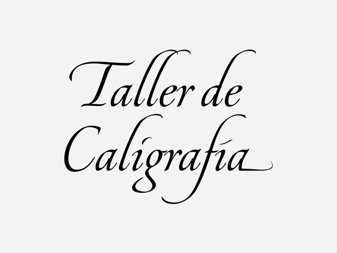 Taller de Caligrafía - morgan